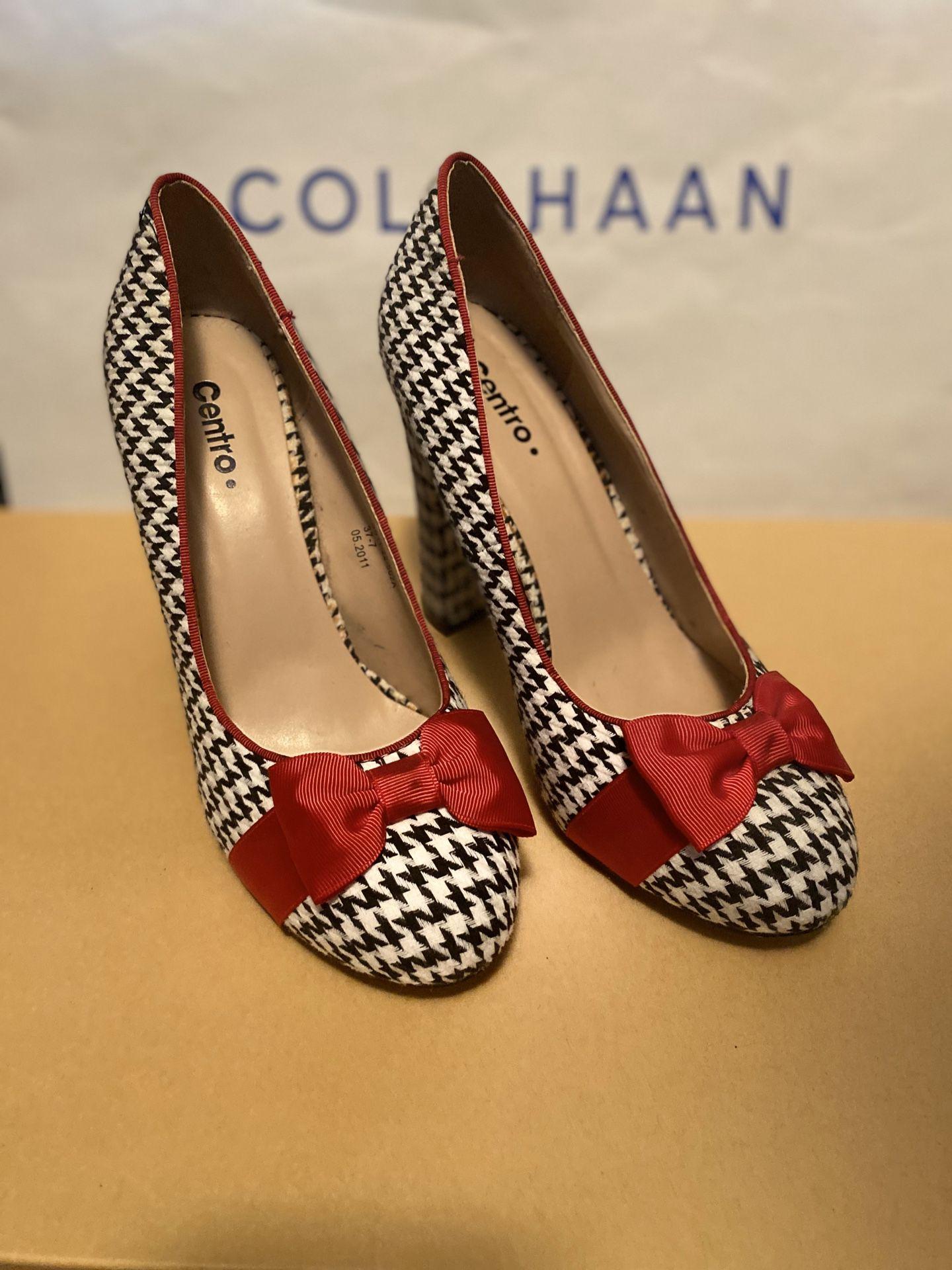 women's high heel shoes size 7,5