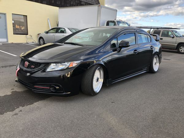 2013 Honda Civic SI, Clean Title, Stanced(Financing Available) for Sale in  Fremont, CA - OfferUp