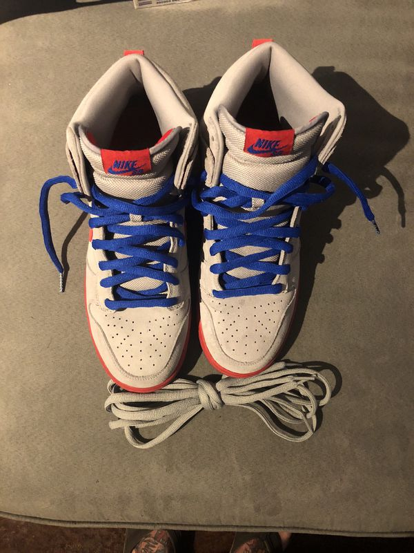 size 40 42c1d 2602c Nike Dunk High Pro SB Medium Grey Varsity Red Old Royal Size 11 for Sale in  Wichita Falls, TX - OfferUp