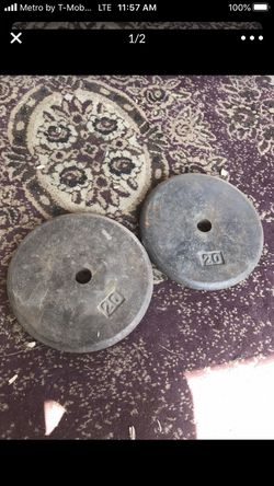 20 Lb Metal weights Thumbnail
