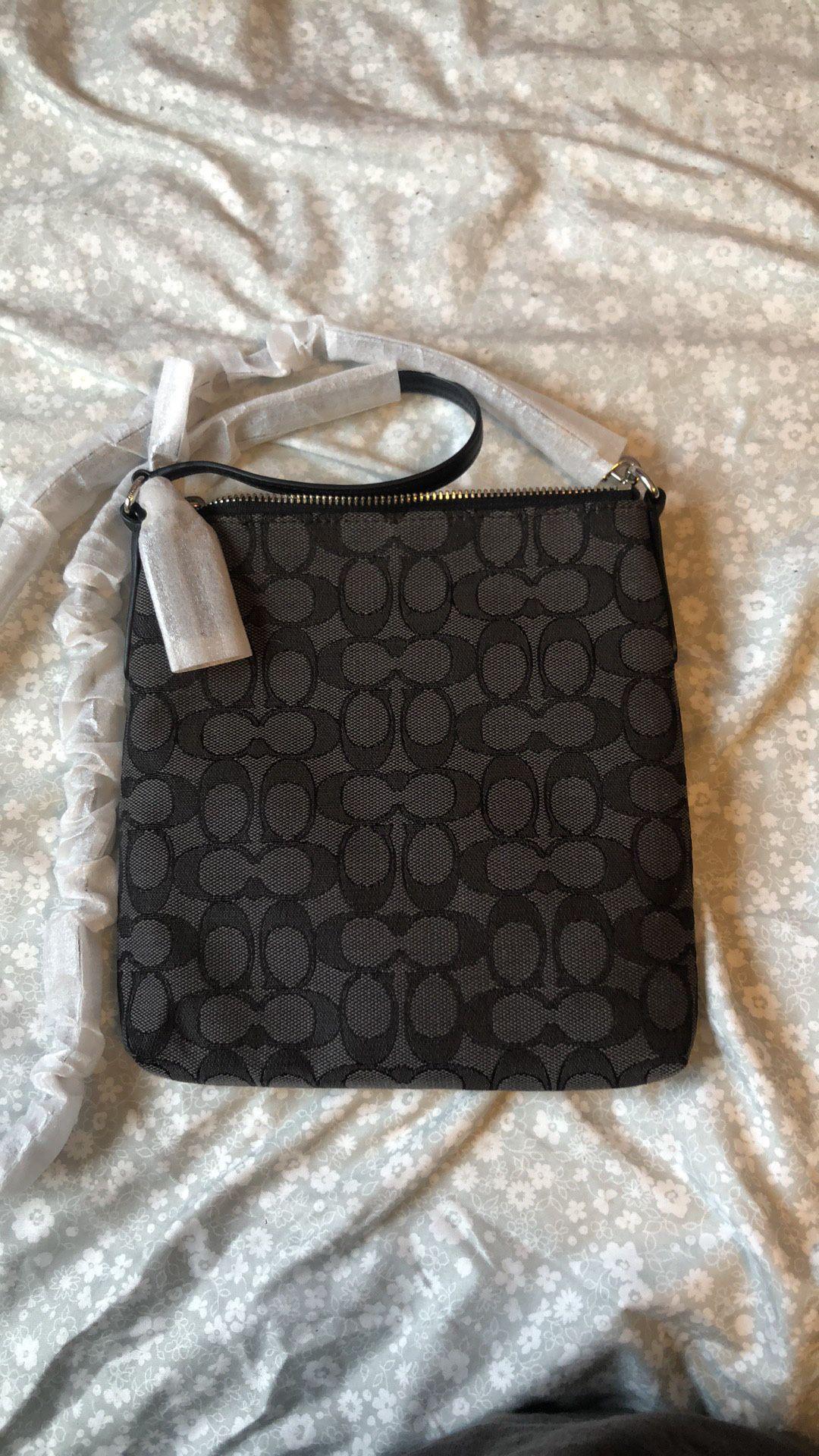 brand new coach crossbody bag