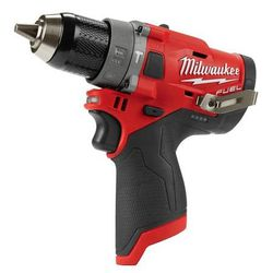 """NEW MILWAUKEE M12 12V FUEL BRUSHLESS 1/2"""" HAMMER DRILL KIT Thumbnail"""