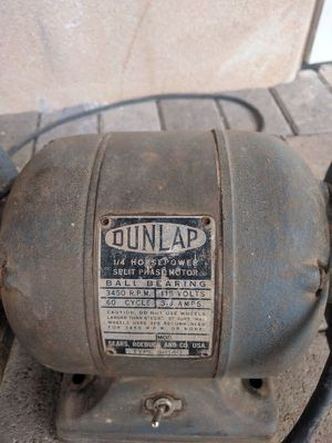 Sensational Dunlap Sears Bench Grinder For Sale In Phoenix Az Offerup Gmtry Best Dining Table And Chair Ideas Images Gmtryco