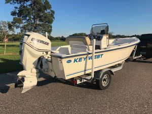 Key west 1720 with 115hp for Sale in Tampa, FL