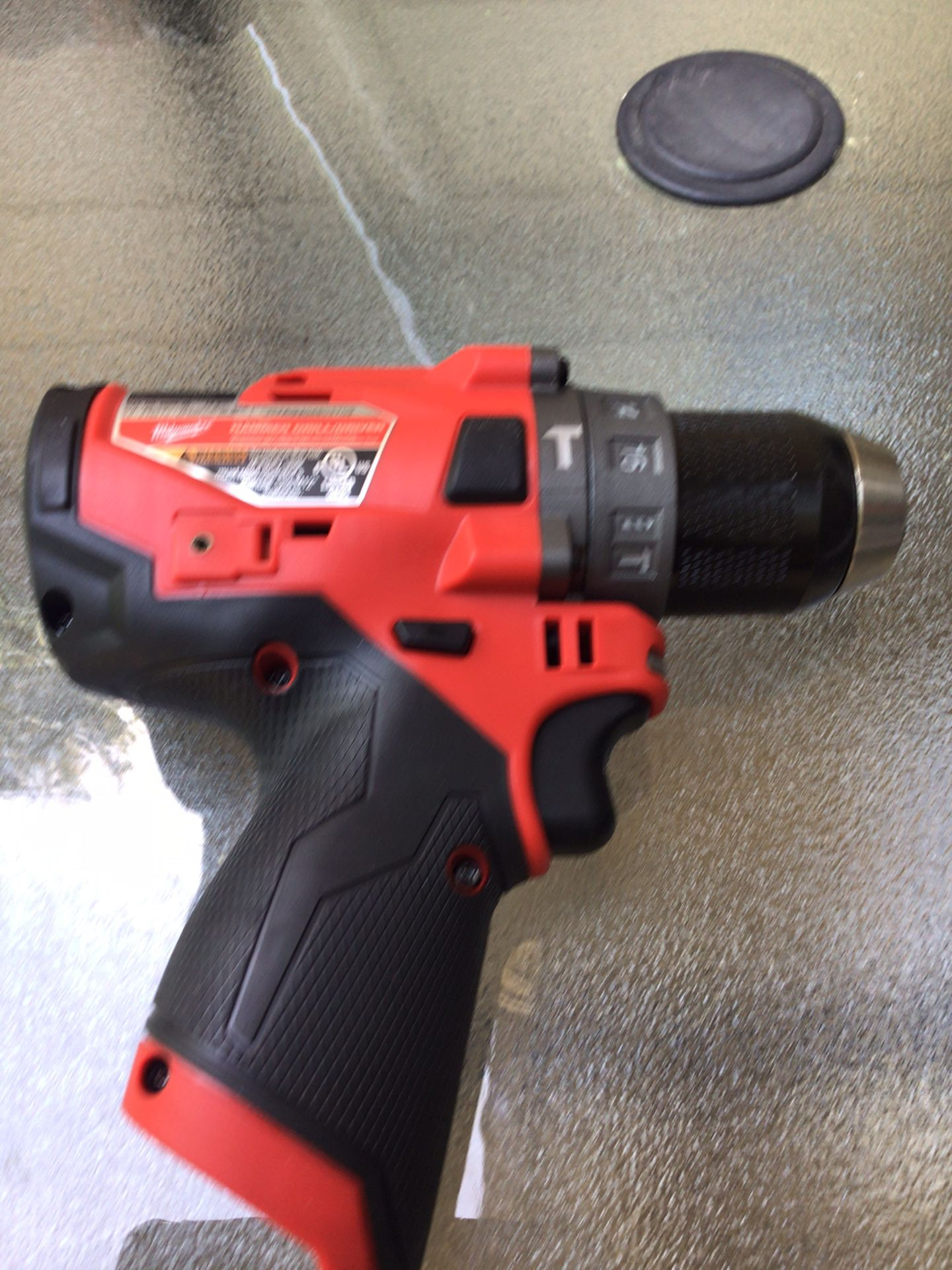 Milwaukee 2504-20 M12 FUEL 12-V Brushless Cordless 1/2 in. Hammer Drill and Driver (Tool-Only)