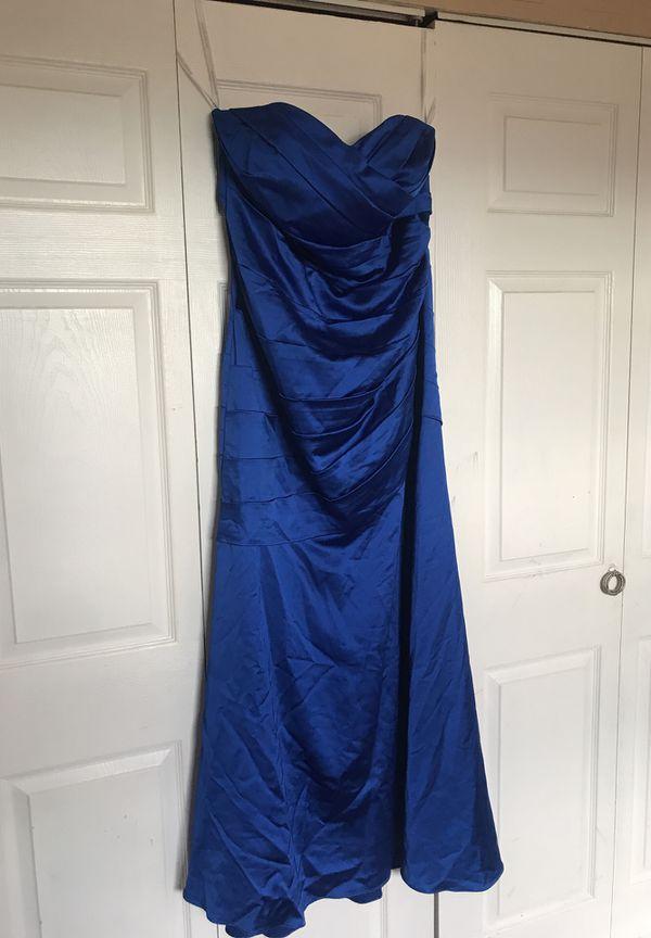 a8876de501e2 David's Bridal Blue Dress for Sale in Fort Lauderdale, FL - OfferUp