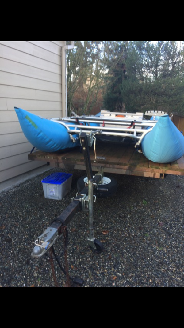 Sotar Elite pontoon drift boat for Sale in Lynnwood, WA - OfferUp
