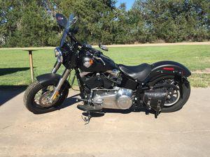 Photo 2013 Harley Davidson soft tail slim flat black