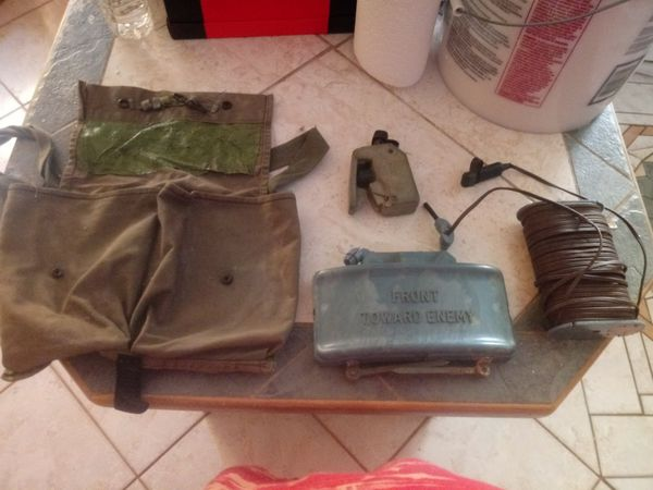 Original military trainer claymore kit demilled (non explosive trainer) for  Sale in Fort Lauderdale, FL - OfferUp