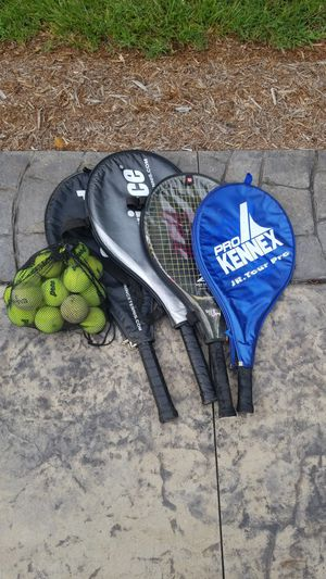 Tennis Rackets and balls for Sale in Appomattox, VA
