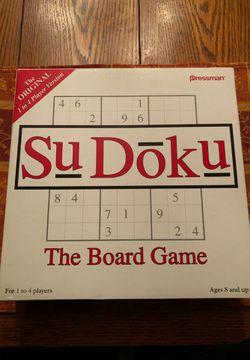 SuDoku Board Game Thumbnail