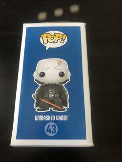 Funko Pop Star Wars Unmasked Vader Thumbnail