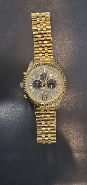 Photo Gold Tone Michael Kors Watch