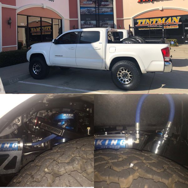 King shocks installed Toyota Tacoma 2005 thru 2019 for Sale in Murrieta, CA  - OfferUp