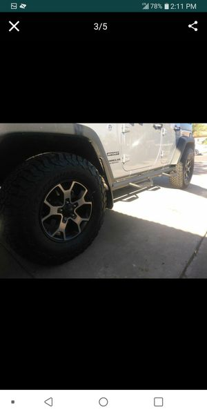 Jeep wrangler parts for Sale in Mesa, AZ