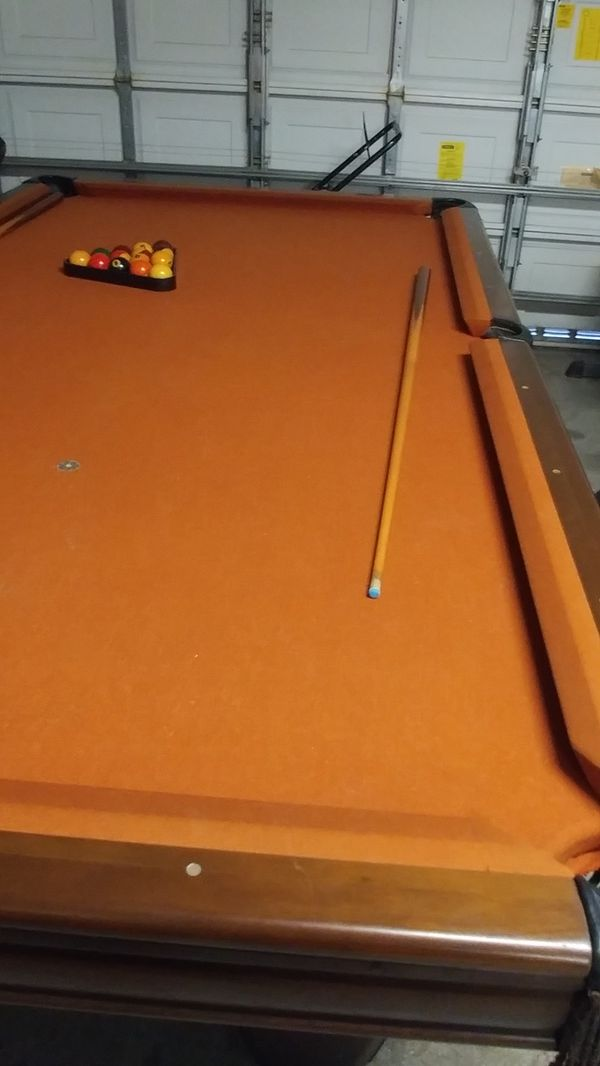 Pool Table In Good Condition Need My Space Back Firm For - Sell my pool table