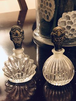 Vintage Crystal Parfumerie Decanters Thumbnail