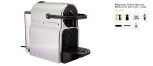 Nespresso Inissia Espresso Machine by De'Longhi, Silver for Sale in Alexandria, VA