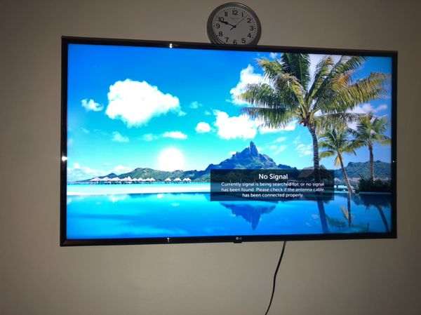 """LG TV 50"""" inch with wall mount for Sale in Los Angeles, CA - OfferUp"""