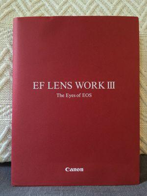 Canon EF Lens Work 3 Hardcover for Sale in Philadelphia, PA