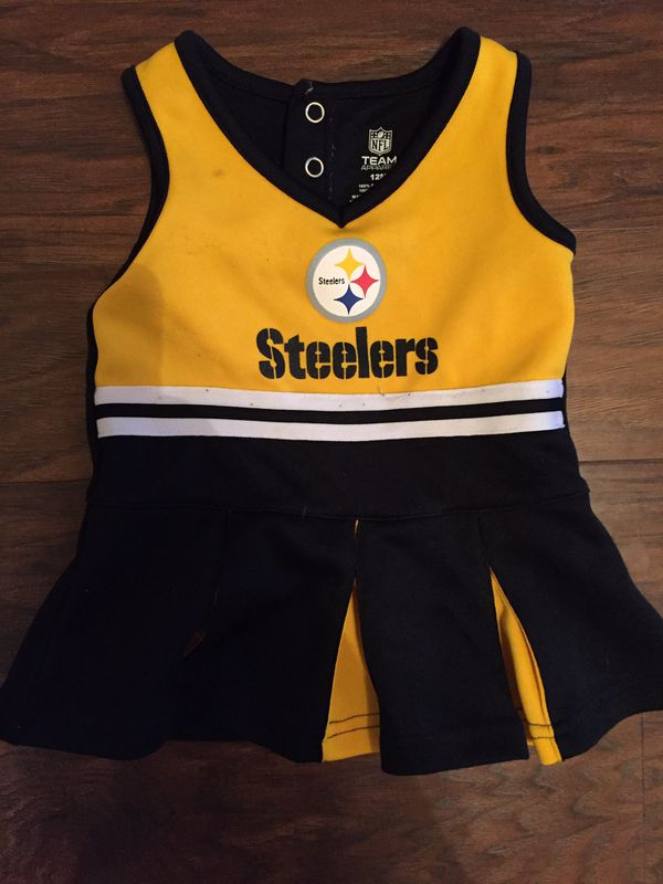 Baby girl Steelers Cheerleading Outfit for Sale in Fayetteville c472179a3