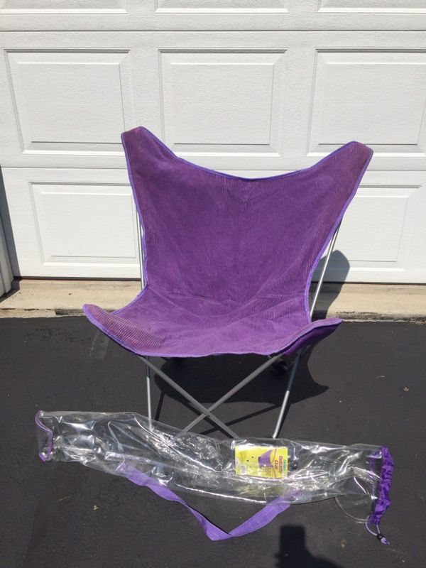 Purple Butterfly Chair Originally From Bed Bath And Beyond Perfect