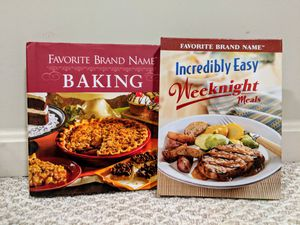 Cook Books: Favorite Brand Names baking & weeknights for Sale in Sterling, VA
