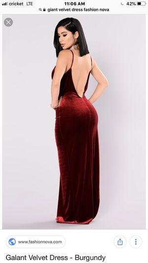 0c1debe8c1c Gaiant velvet dress Fashion Nova for Sale in Phoenix