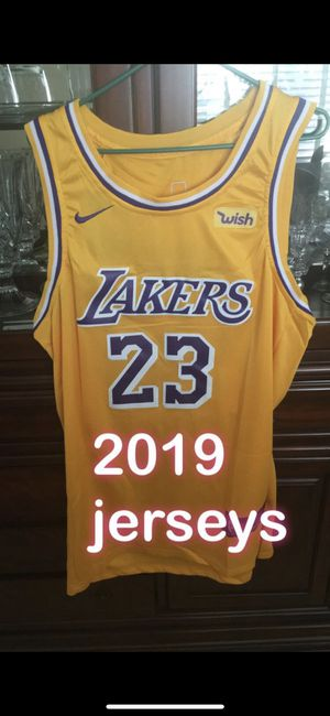 46a5cc4c8 Lakers king James jerseys 2018  all colors available for Sale in Lynwood