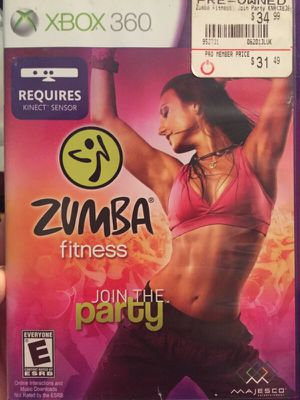 Xbox360 Zumba Kinect Game for Sale in Glen Allen, VA