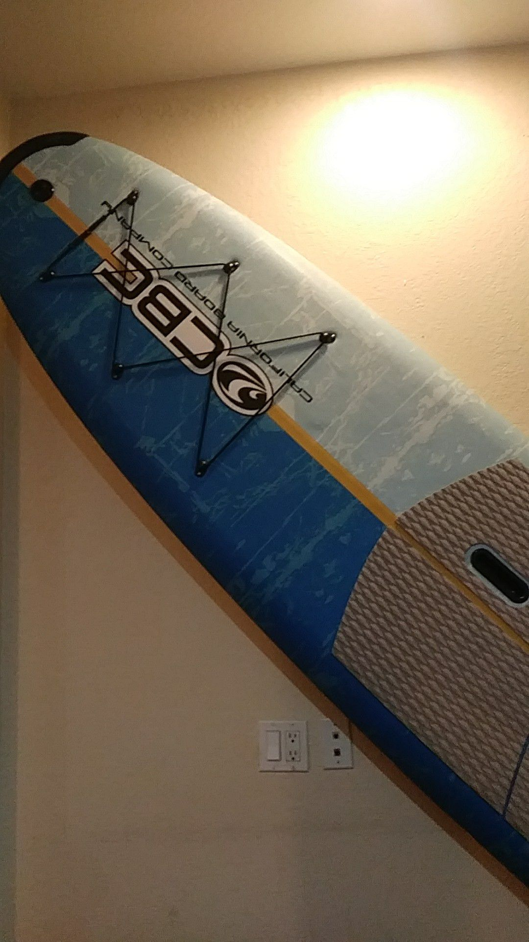 California board company. 10 six edition. I have used it a few times. But, it's still in great condition