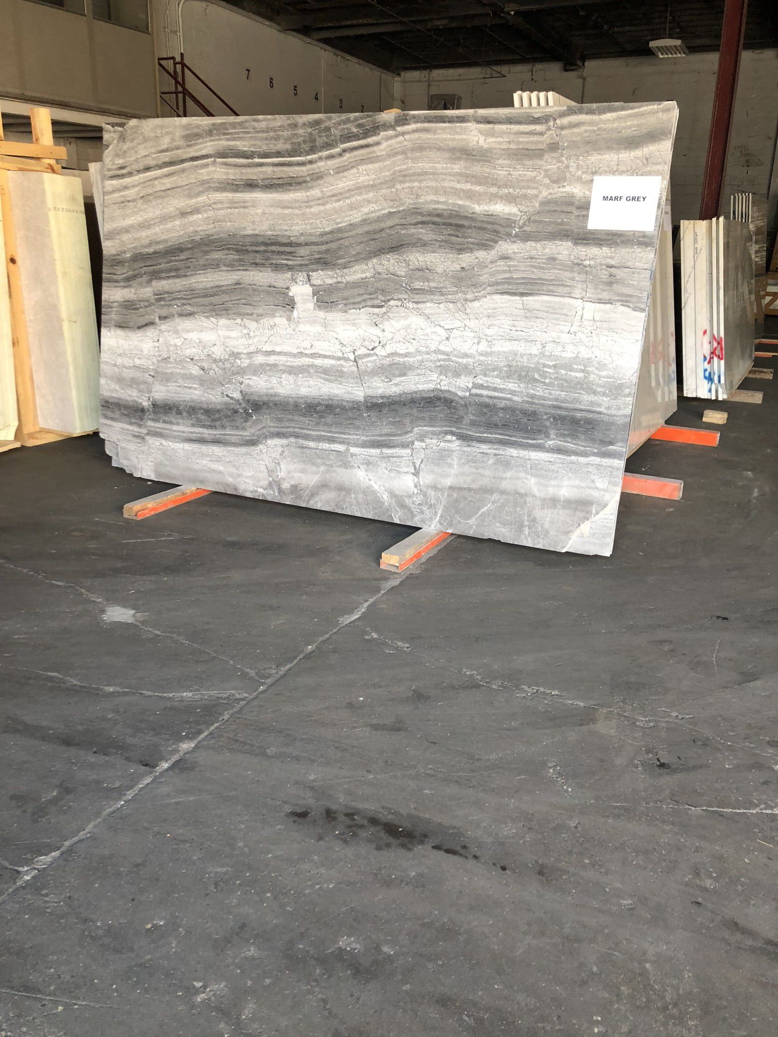 Marf Grey Marble Slabs- Ask me for pricing!