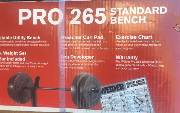 New And Used Weight Benches For Sale In Clovis Ca Offerup
