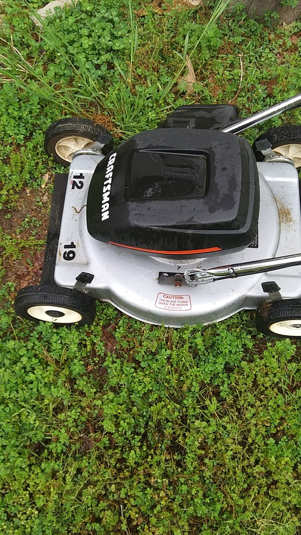 Electric Lawn Mower For Sale In Sunrise Beach Mo Offerup