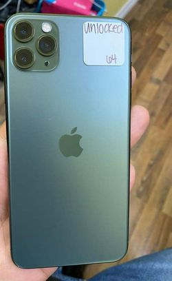 IPHONE 11 PRO 64GB LIKE NEW UNLOCKED FOR ANY CARRIER 1AWU Thumbnail