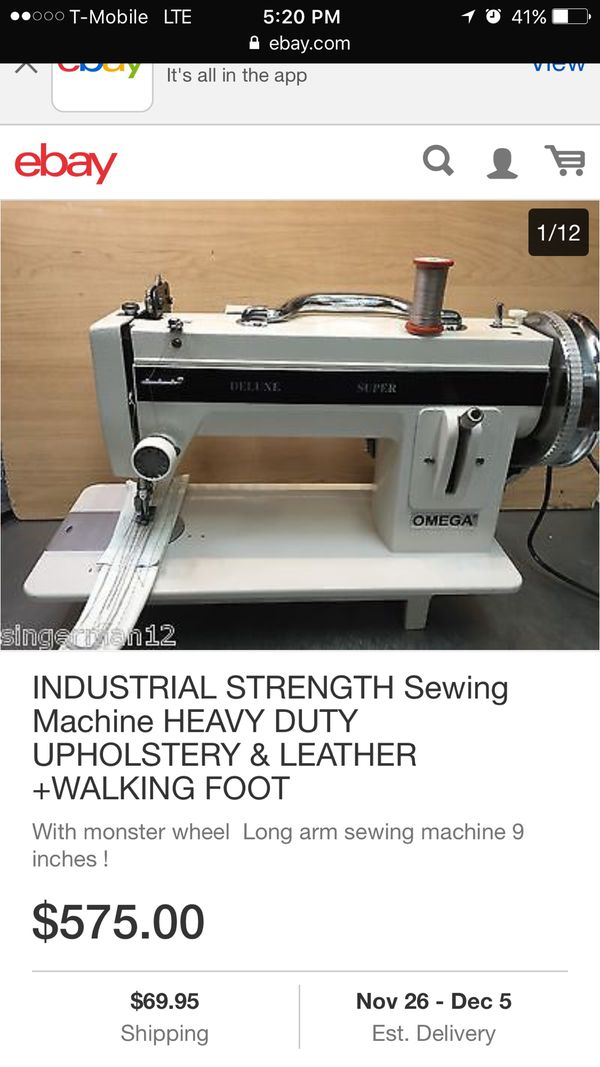 New And Used Sewing Machines For Sale In Murrieta Ca Offerup