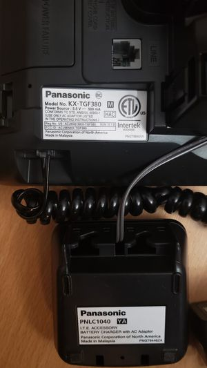 Pansonic KX-TGF380M Bluetooth Business Phone and Answering System for Sale  in Miami, FL - OfferUp