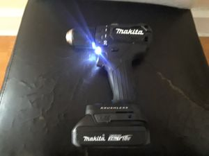 Brand New Brushless Makita Compact Drill/Driver! for Sale in Philadelphia, PA