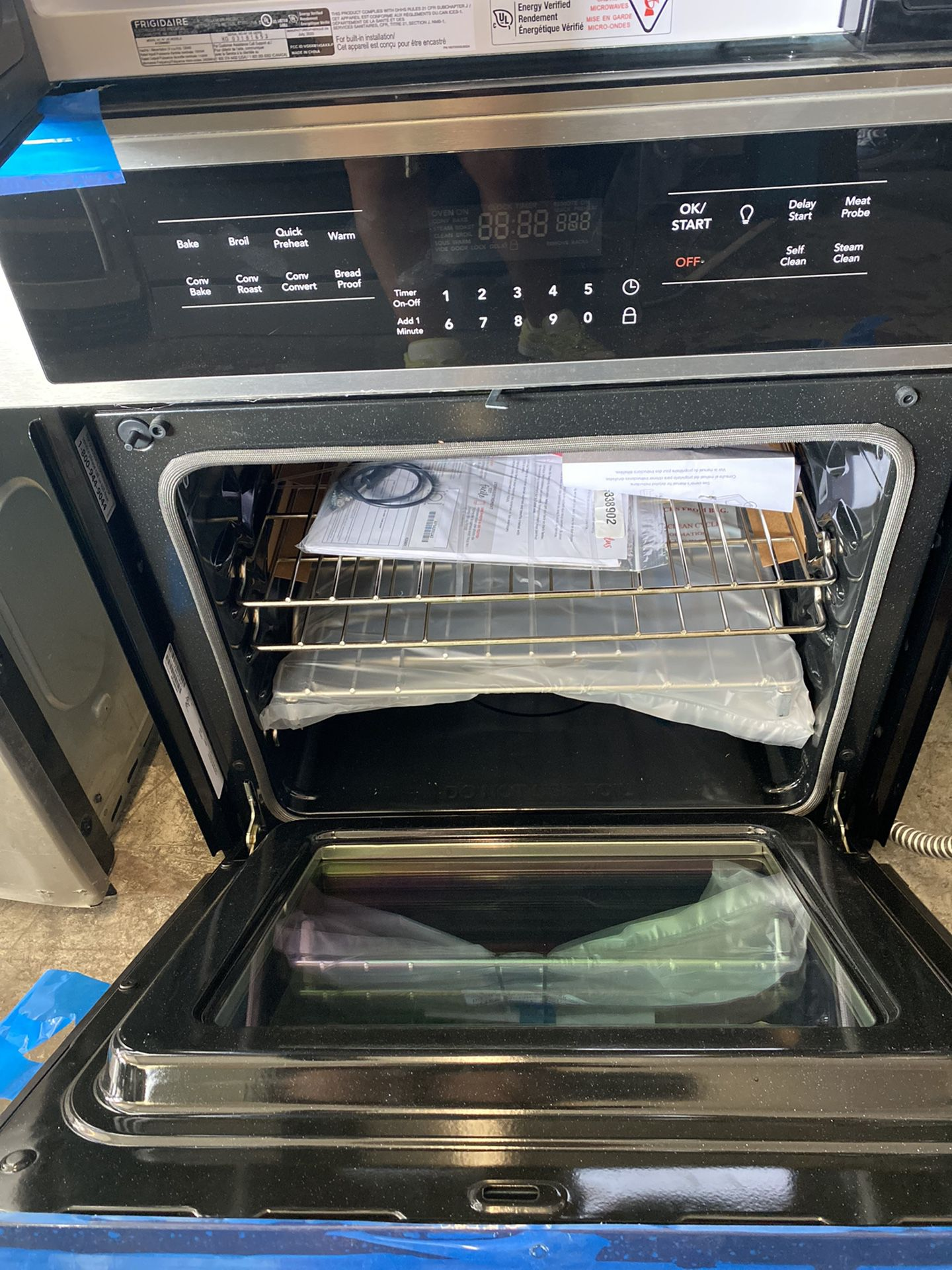 NEW Frigidaire Microwave Oven Combo Electric