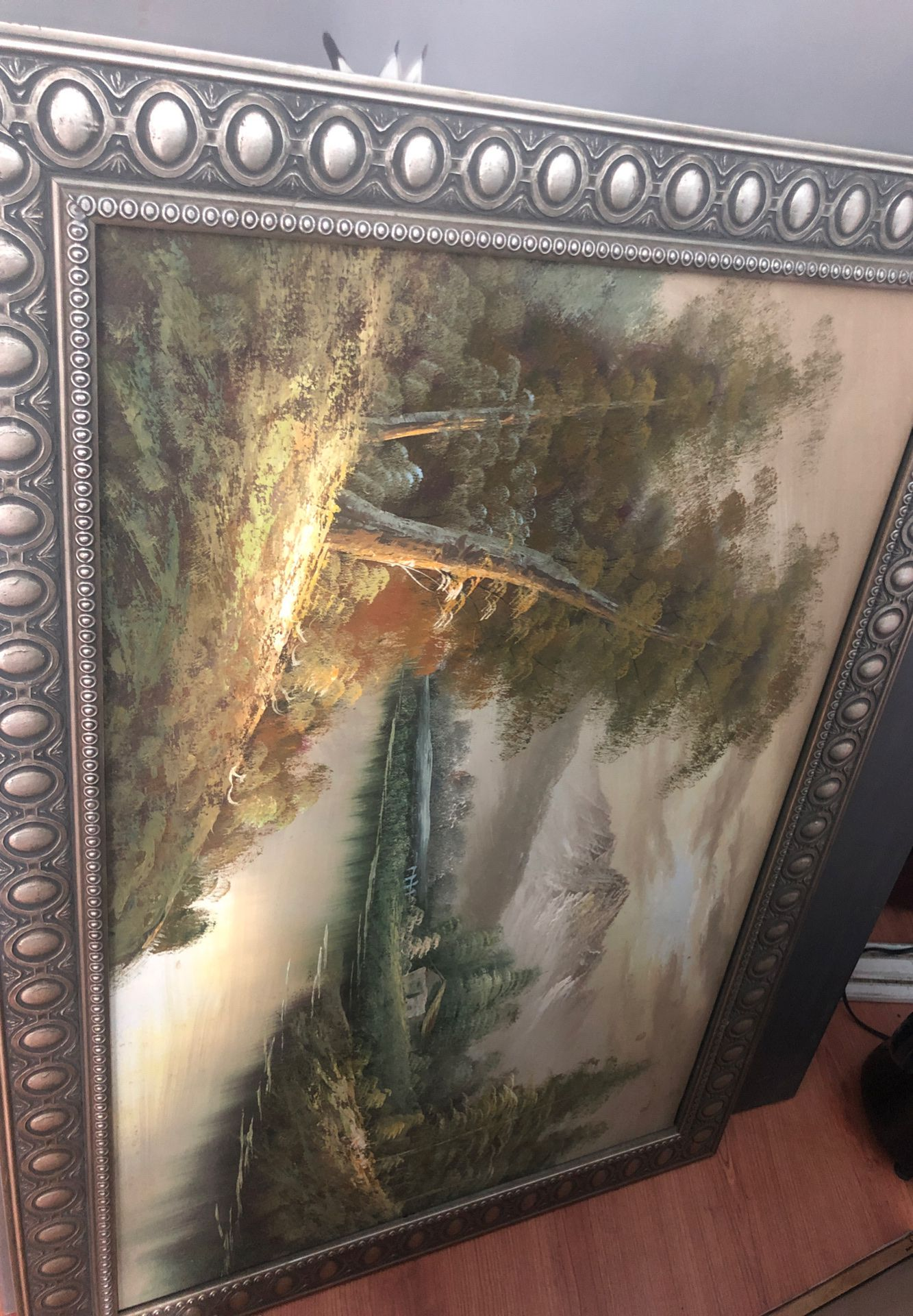 Beautiful painting with frame