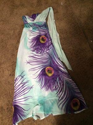 Women's peacock wedding dress for Sale in Detroit, MI