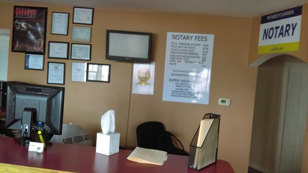 24 Hour Instant Notary Tags Title Transfer Full Agent Car Sales For