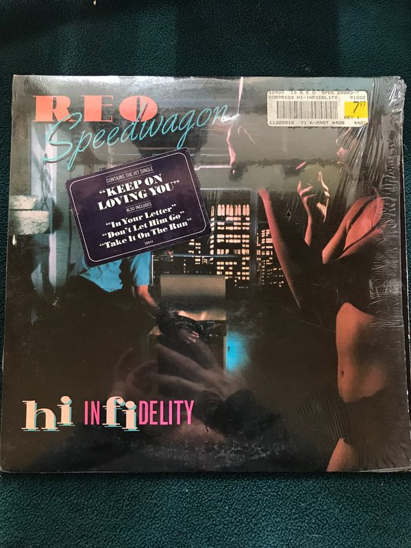 REO Speedwagon Hi Infidelity Vinyl LP Record VG+ AL 36844 1980 for Sale in  Riverside, CA - OfferUp