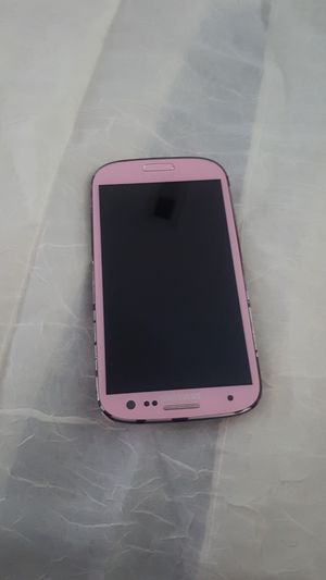 Samsung galaxy S3 16gb unlocked Pink. for Sale in Severn, MD