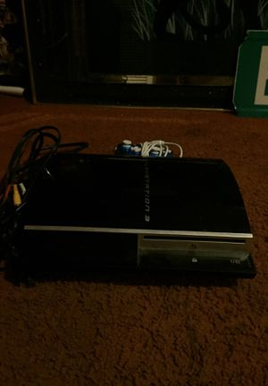 PS3 system & Blue Controller for Sale in Alexandria, VA