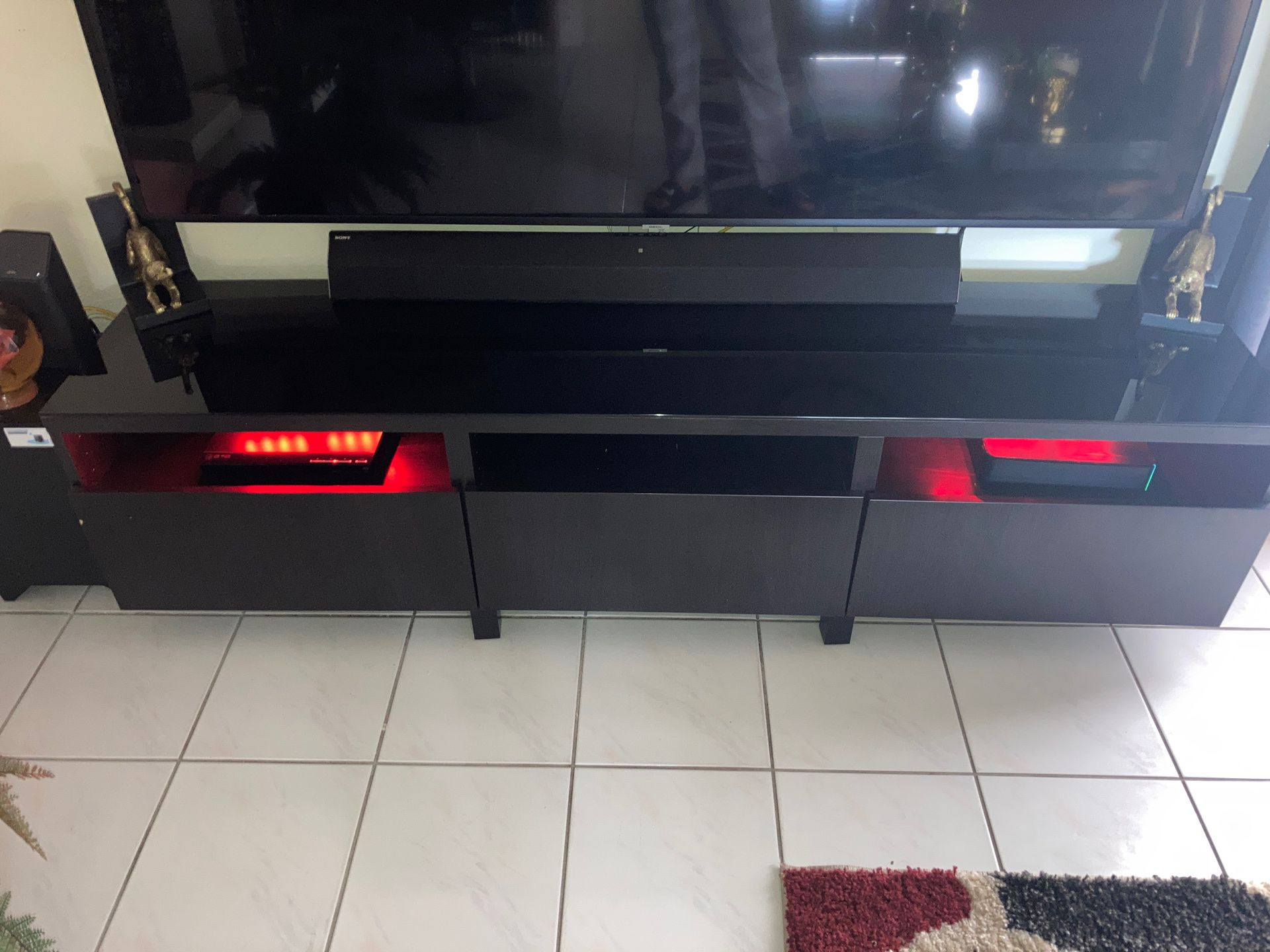Black Tv Stand Good Condition