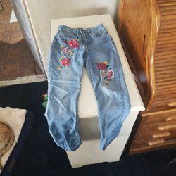 H&M Girls Jeans Size 6 Thumbnail