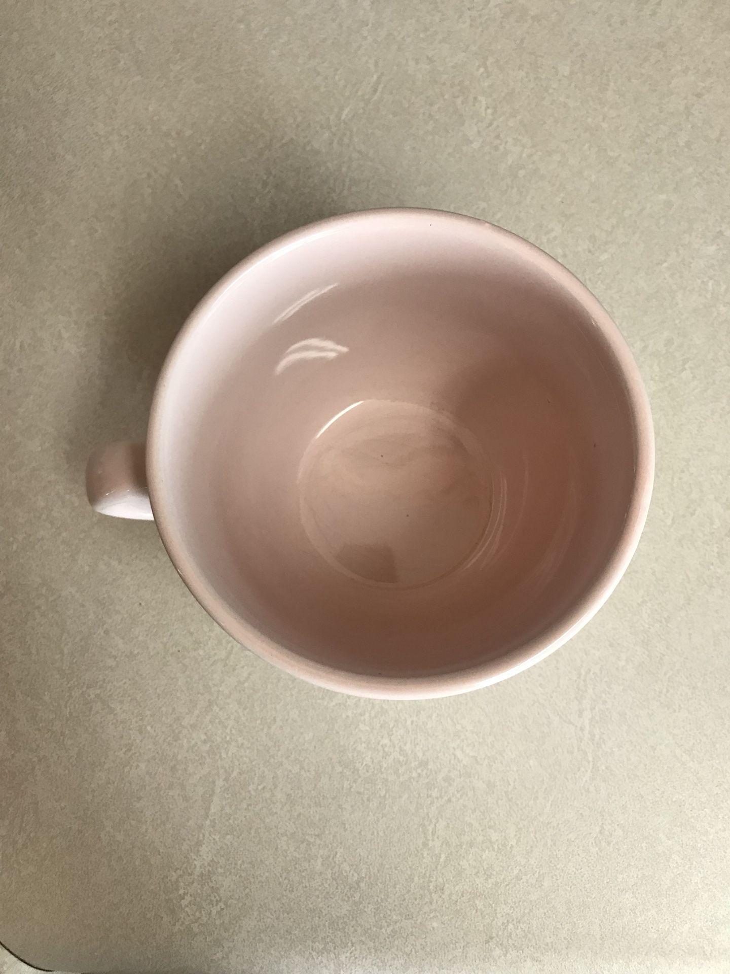 Light pink mug