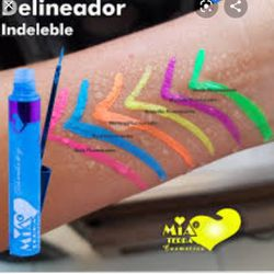Delineadores neon y pastel a prueba de agua super pigmentados Thumbnail