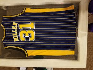 Used, NBA Indiana Pacers Reggie Miller Jersey for sale  Wichita, KS
